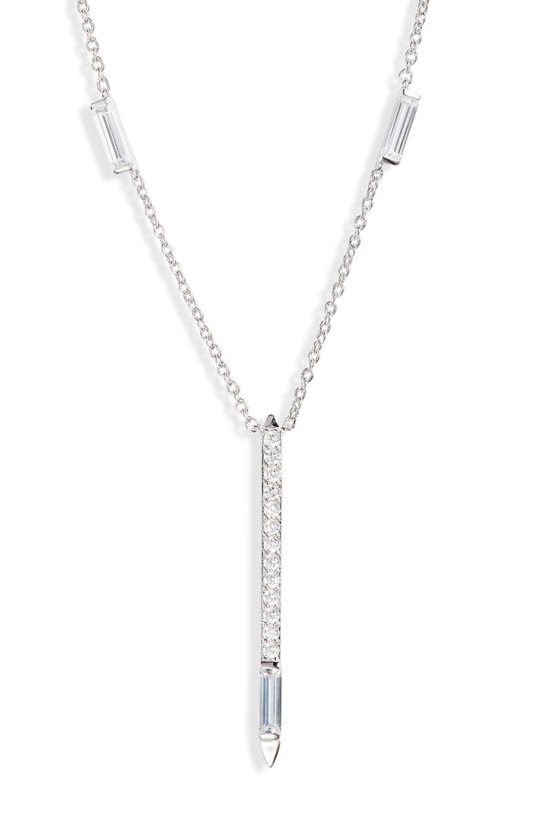 Nadri Mercer Bar Pendant Necklace