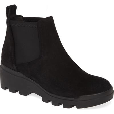 Eileen Fisher Splash Chelsea Boot, Black