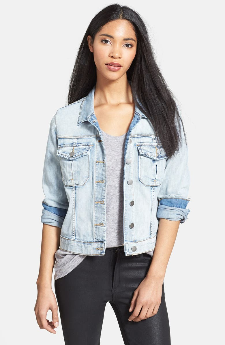 KUT FROM THE KLOTH 'Amelia' Denim Jacket, Main, color, 400
