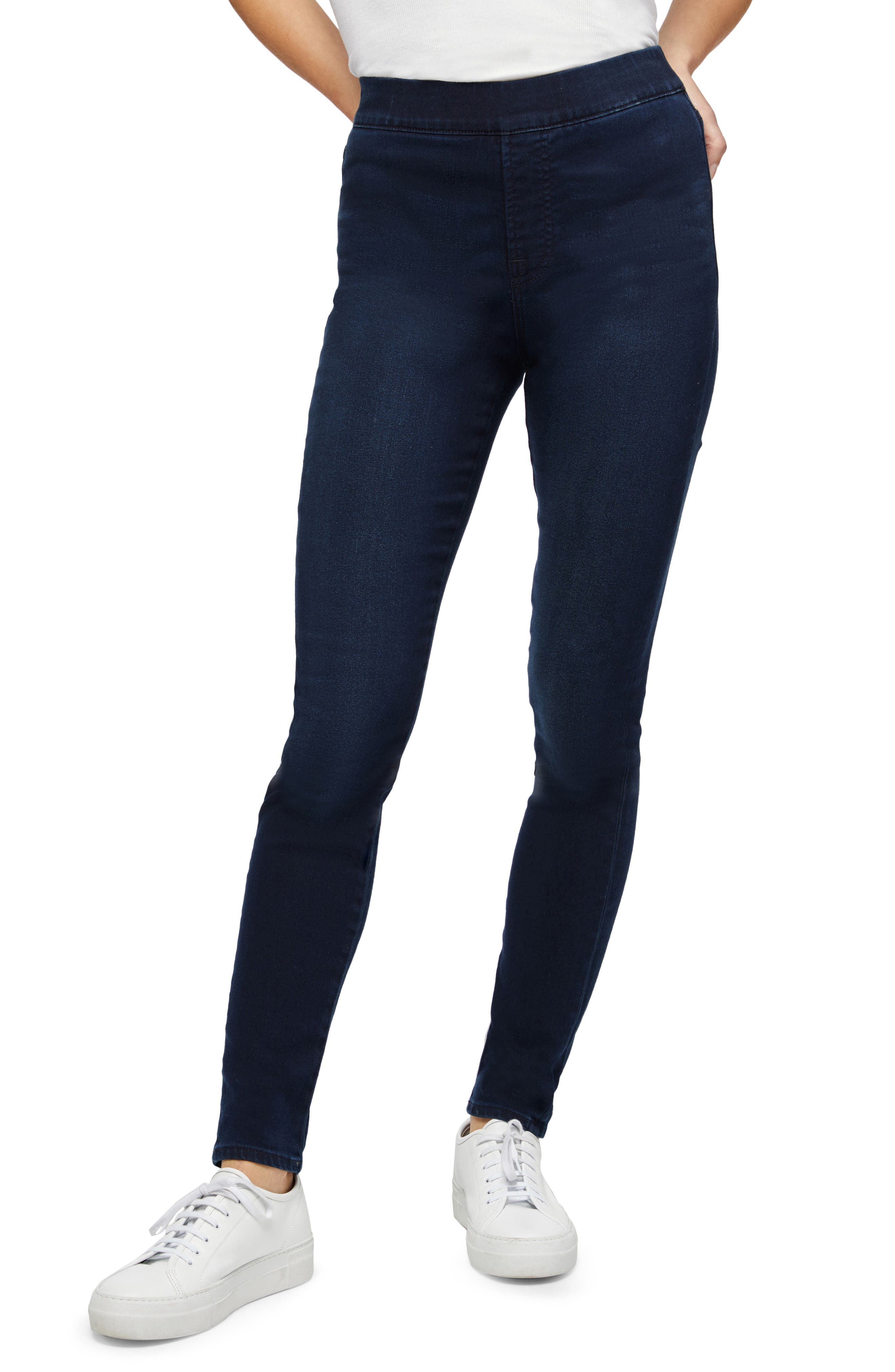 By 7 For All Mankind Pull-On Skinny Jeans