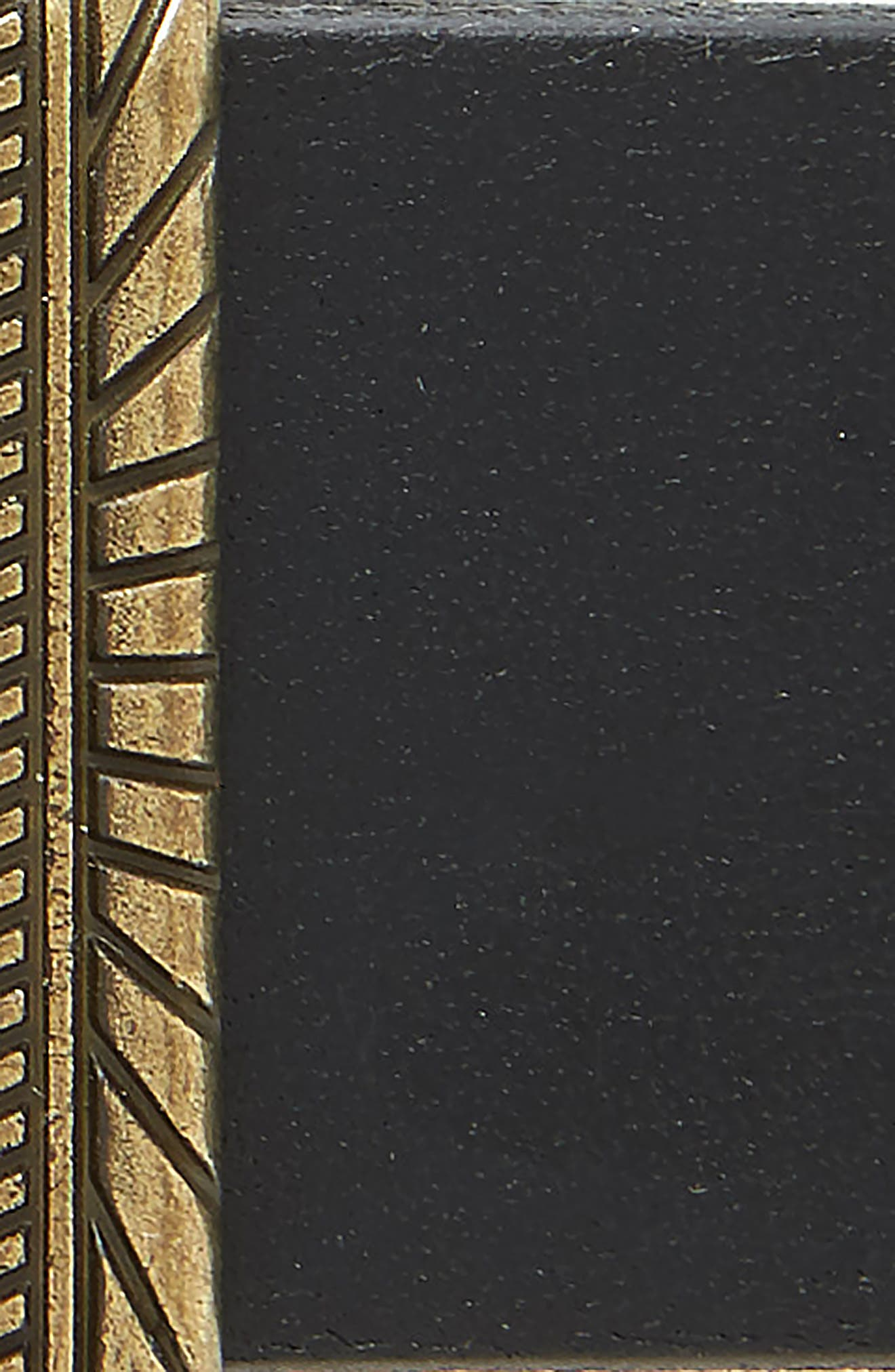 ,                             Western Jean Leather Belt,                             Alternate thumbnail 3, color,                             BLACK