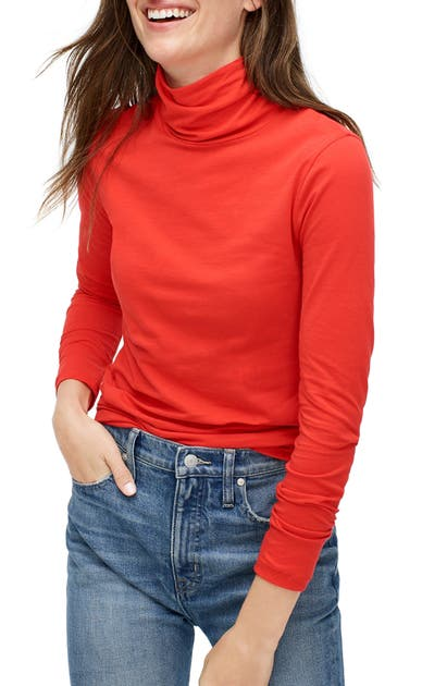 J.crew Tops TISSUE TURTLENECK