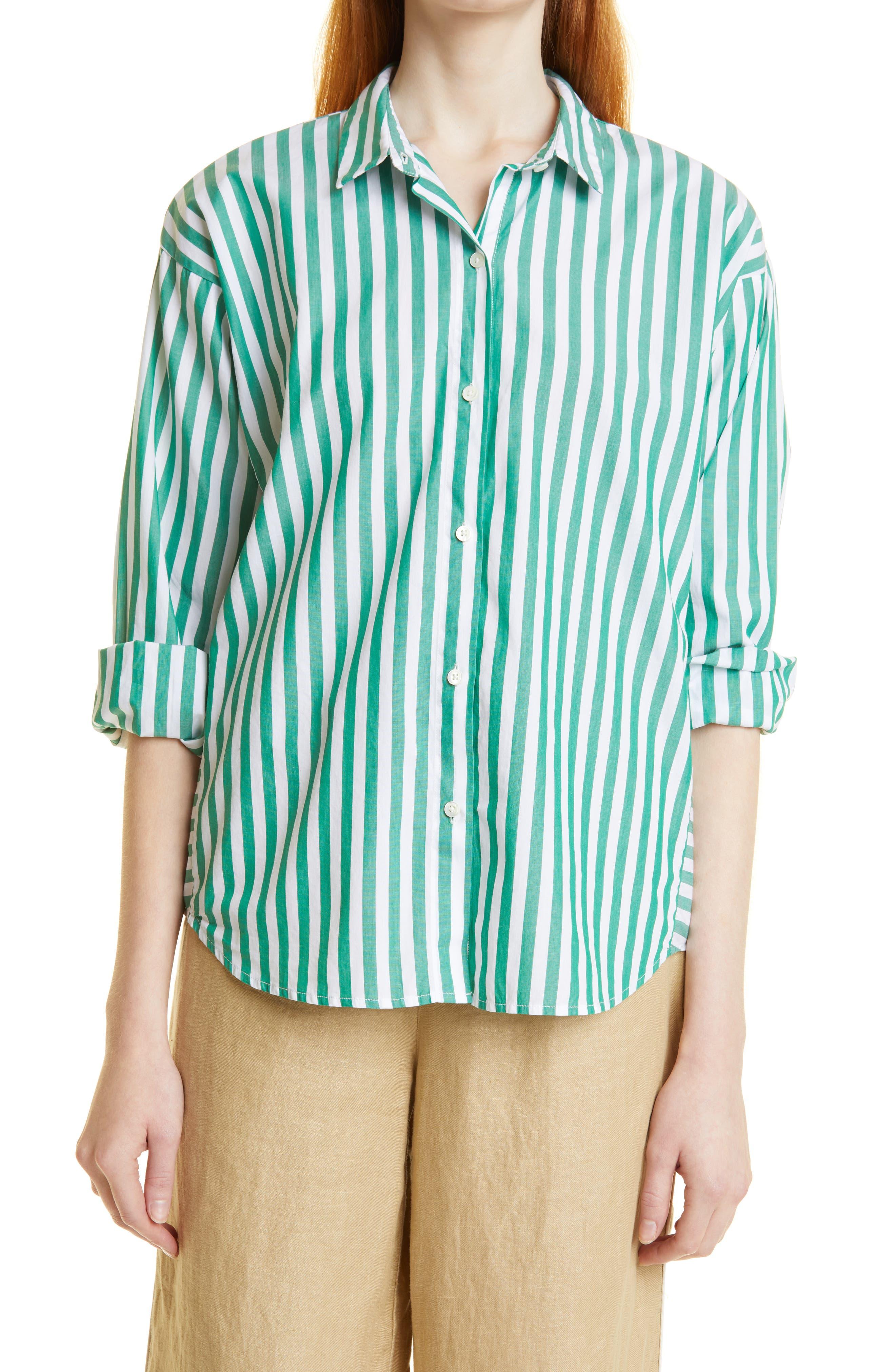 Henri Stripe Cotton Shirt