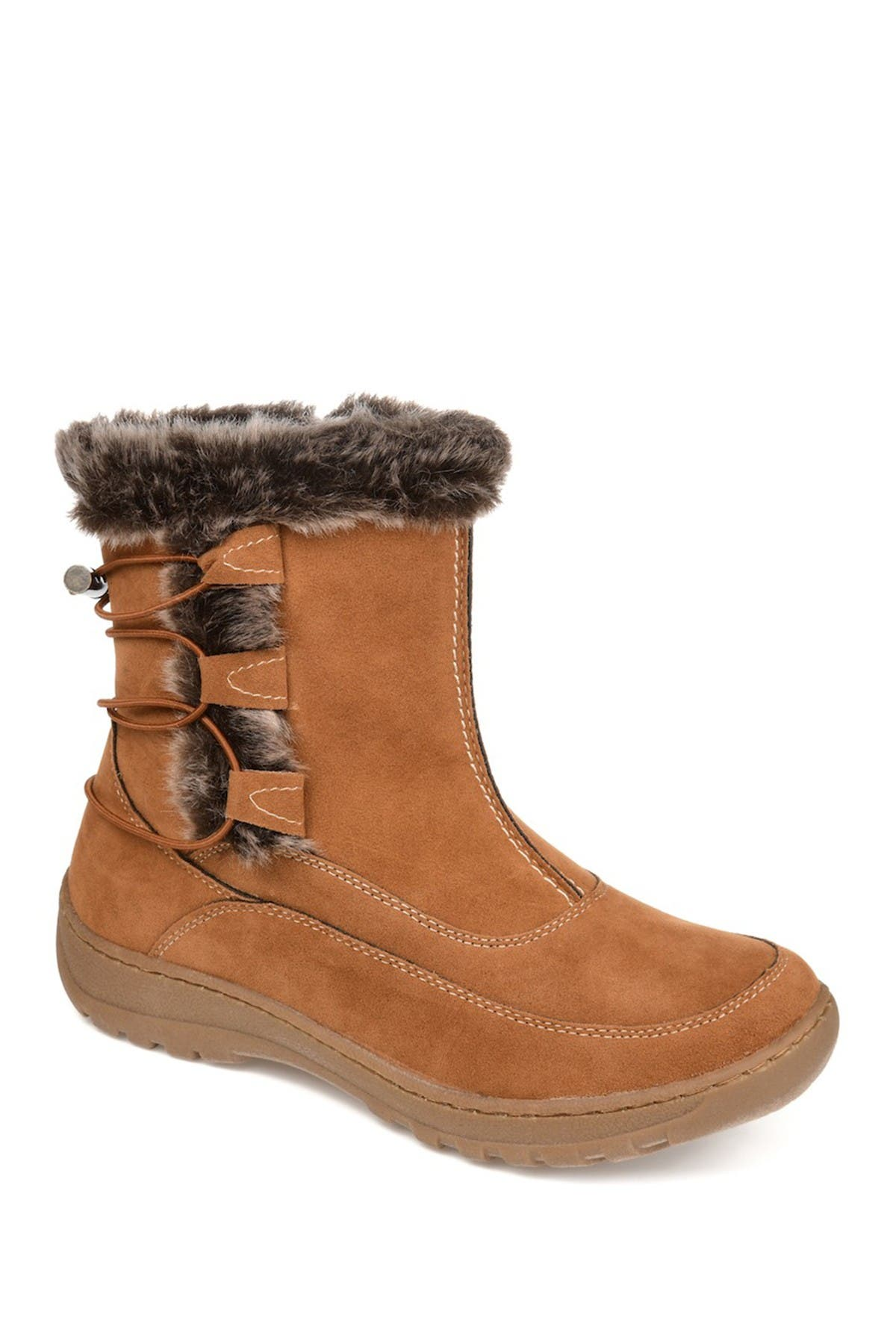 Image of JOURNEE Collection Wasilla Faux Fur Lined Boot