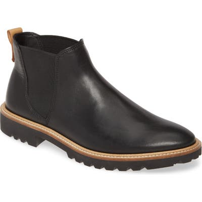 Ecco Incise Tailored Chelsea Boot, Black