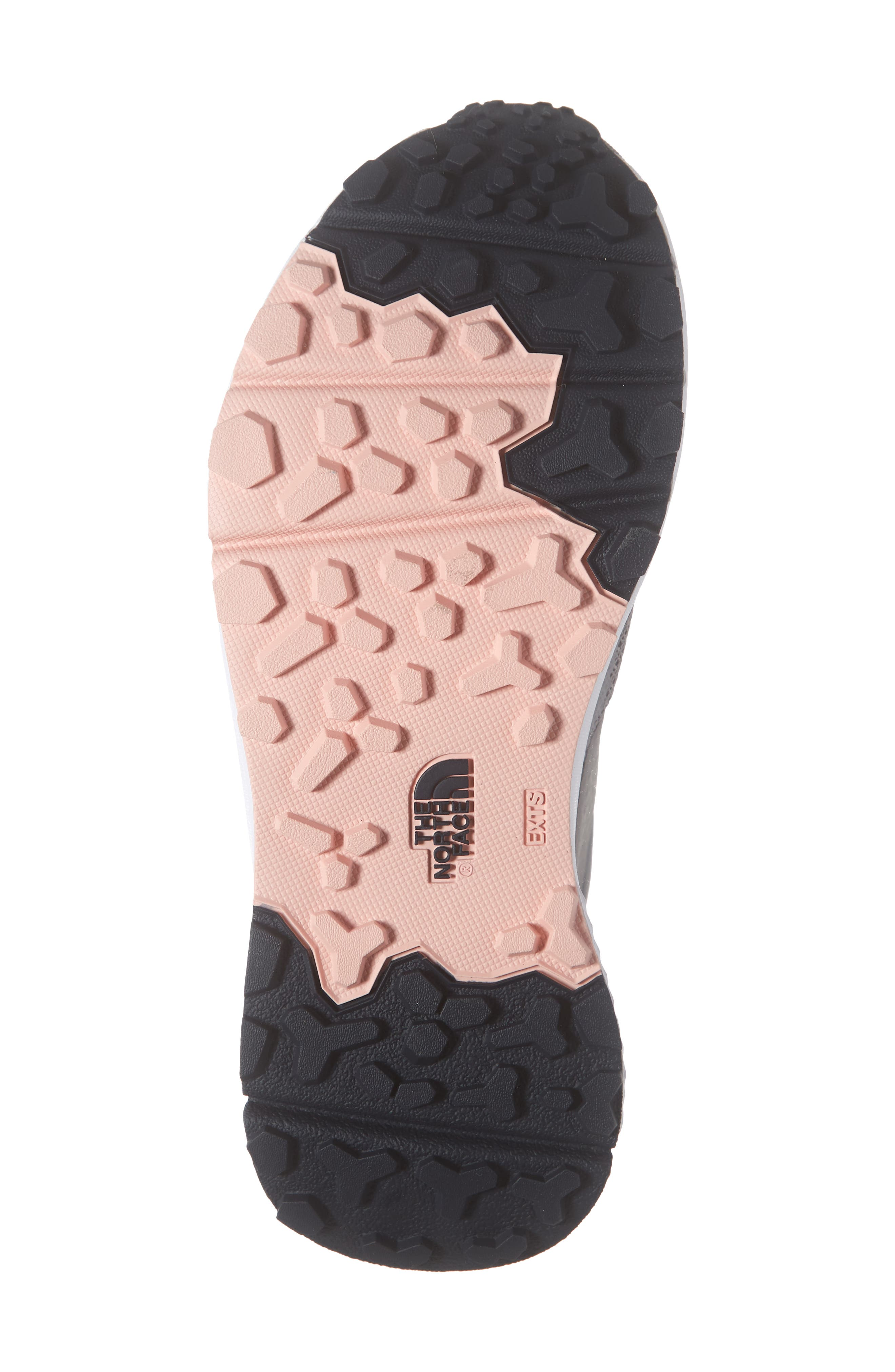 ,                             Vals Waterproof Hiking Sneaker,                             Alternate thumbnail 6, color,                             MELD GREY/ PINK SALT