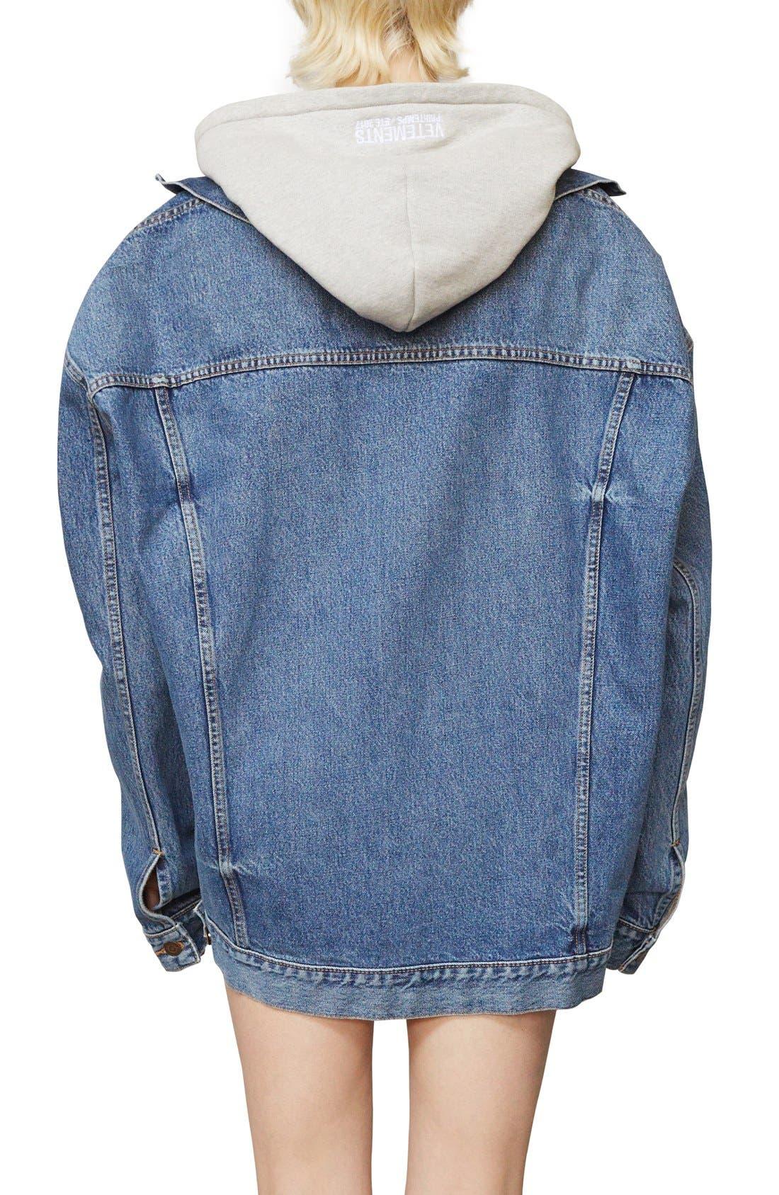 ,                             x Levi's<sup>®</sup> Denim Jacket,                             Alternate thumbnail 9, color,                             400