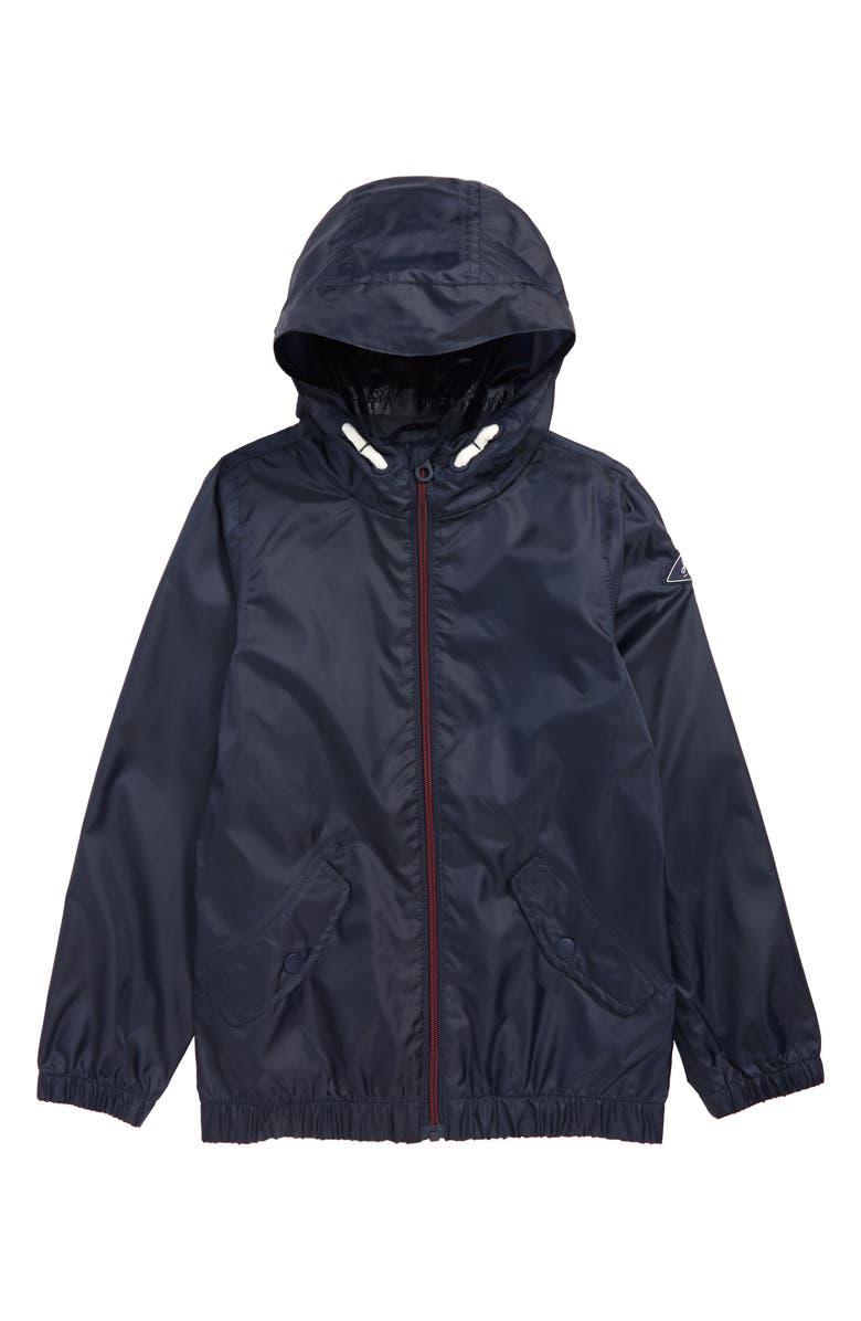 JOULES Rowan Lightweight Raincoat, Main, color, NAVY