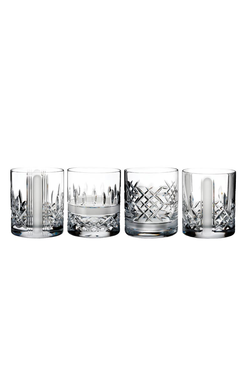 WATERFORD Lismore Revolution Set of 4 Lead Crystal Tumblers, Main, color, 100