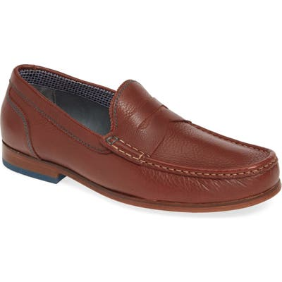 Ted Baker London Xaponl Penny Loafer, Brown