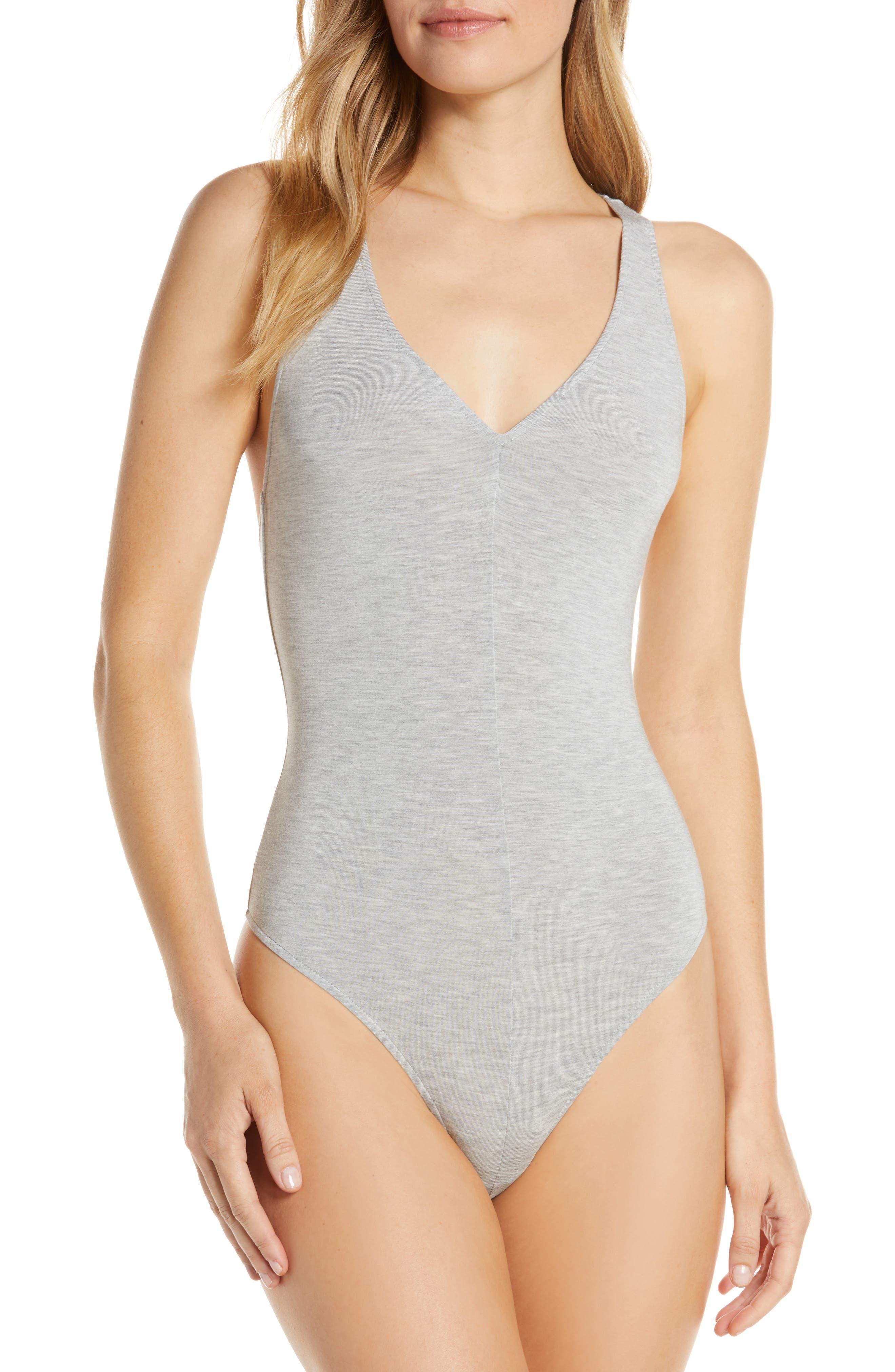 Crisscross Thong Bodysuit
