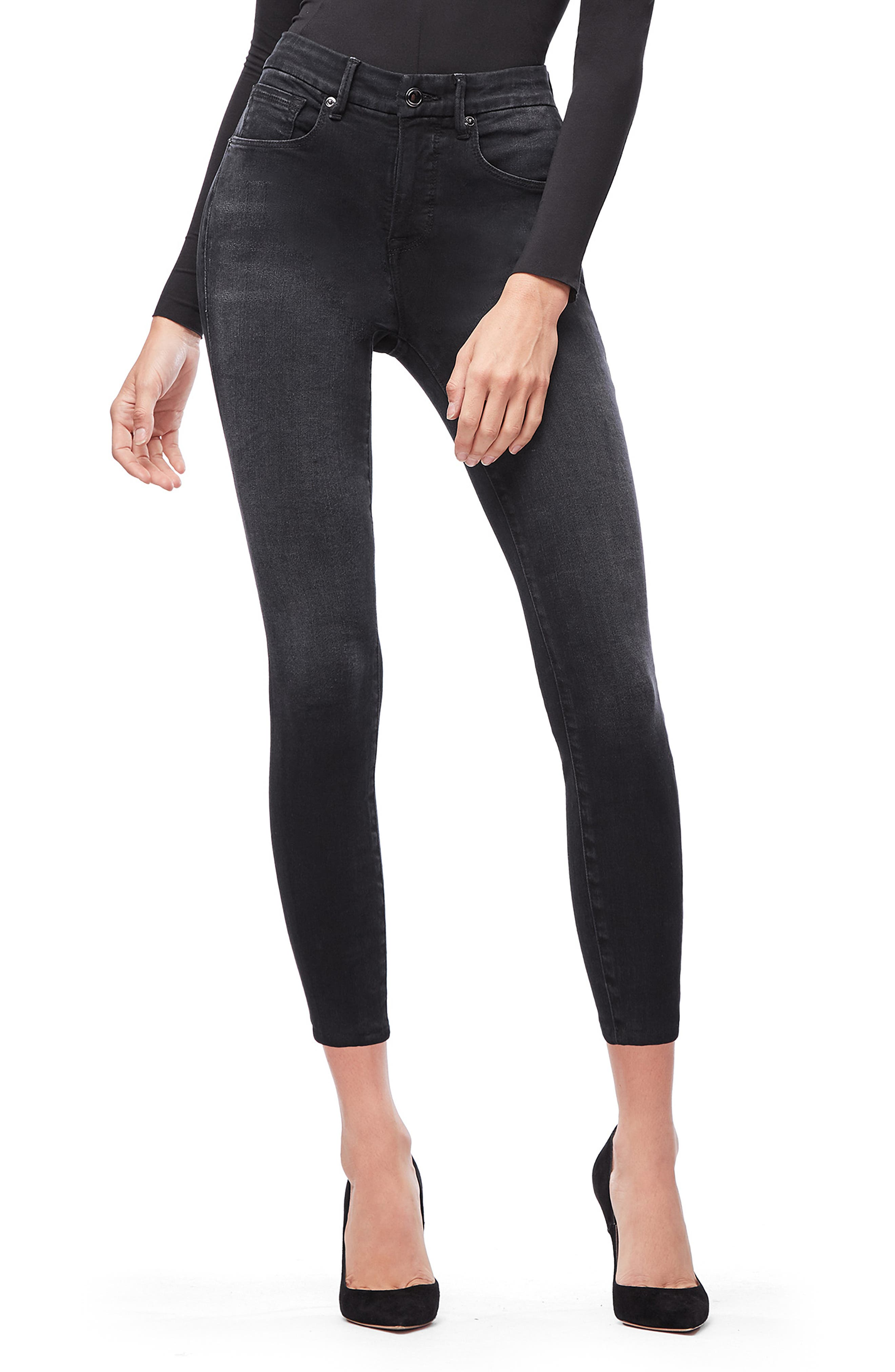 ,                             Good Legs Ankle Skinny Jeans,                             Main thumbnail 8, color,                             402