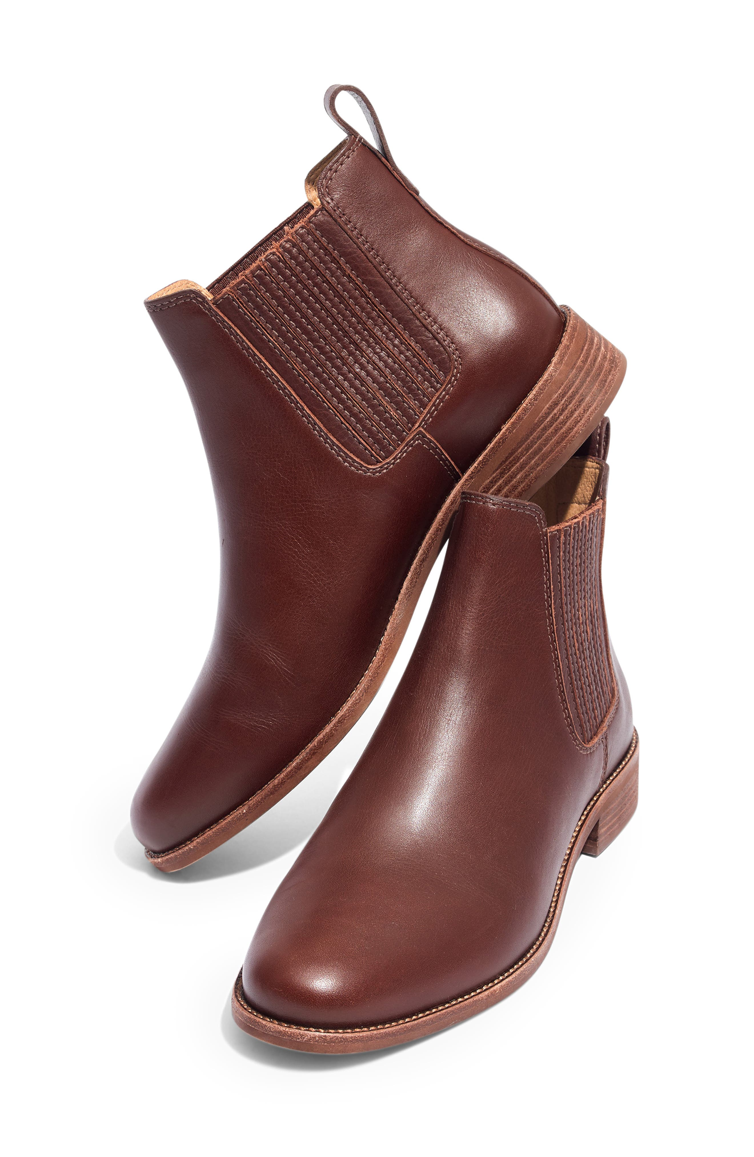 ,                             The Ainsley Chelsea Boot,                             Alternate thumbnail 2, color,                             RICH BROWN LEATHER