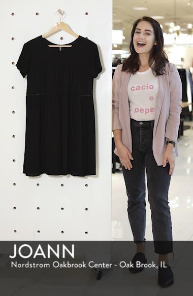 Amelia Silk Blend Babydoll Dress, sales video thumbnail