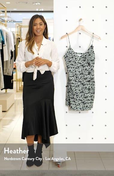 Matisse Wrap Style Button Front Minidress, sales video thumbnail