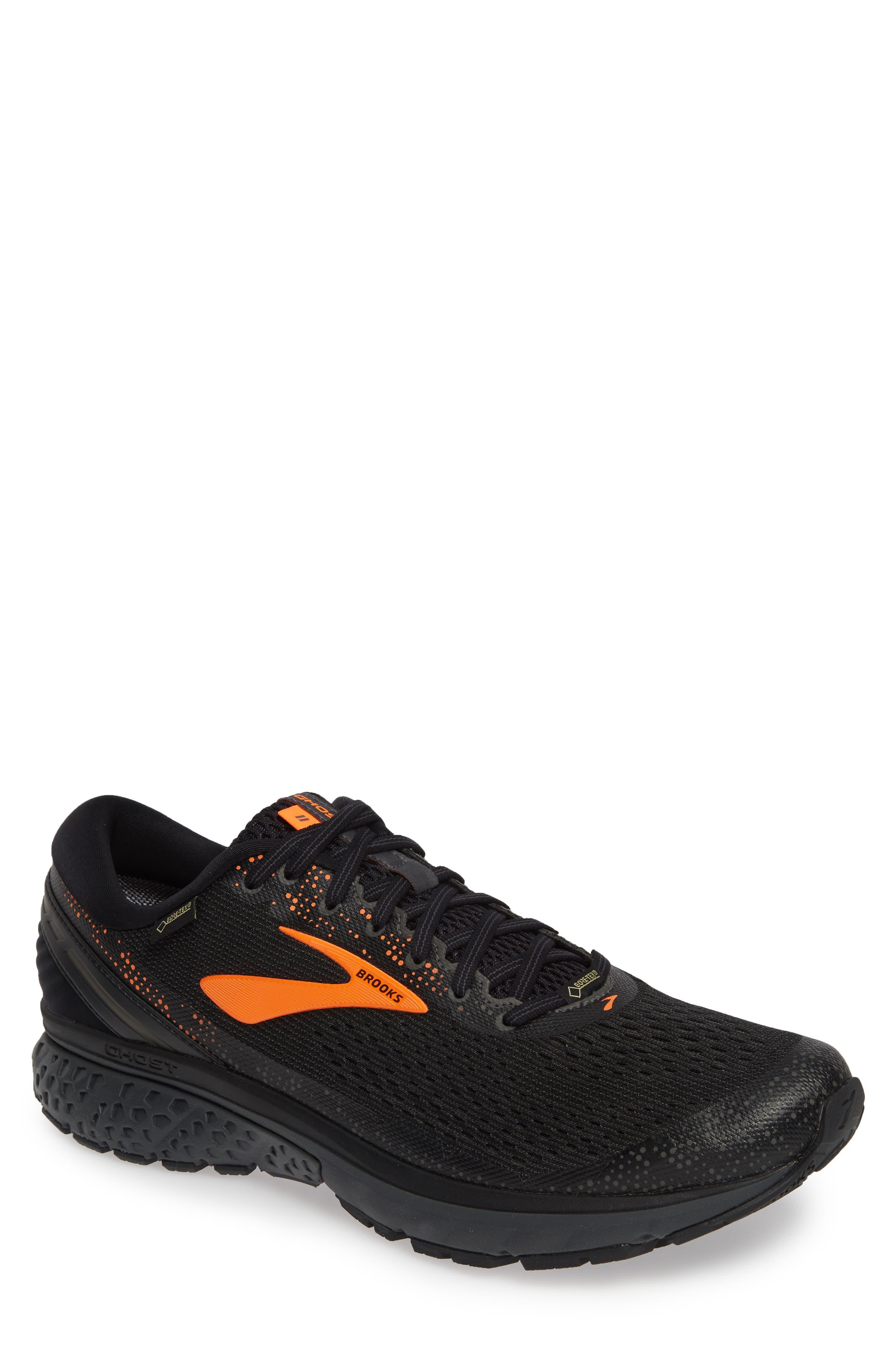 Brooks Ghost 11 Gtx Gore-Tex Waterproof Running Shoe, Black