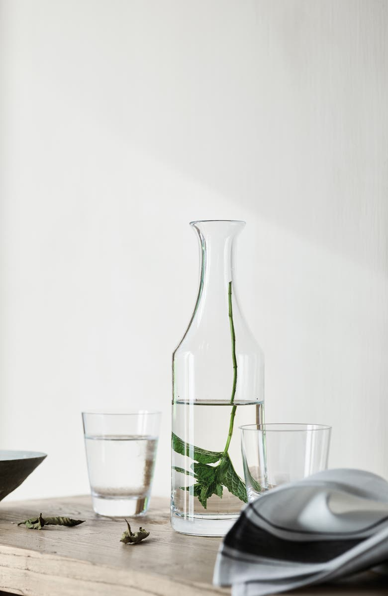 THE WHITE COMPANY Glass Water Carafe, Main, color, CLEAR