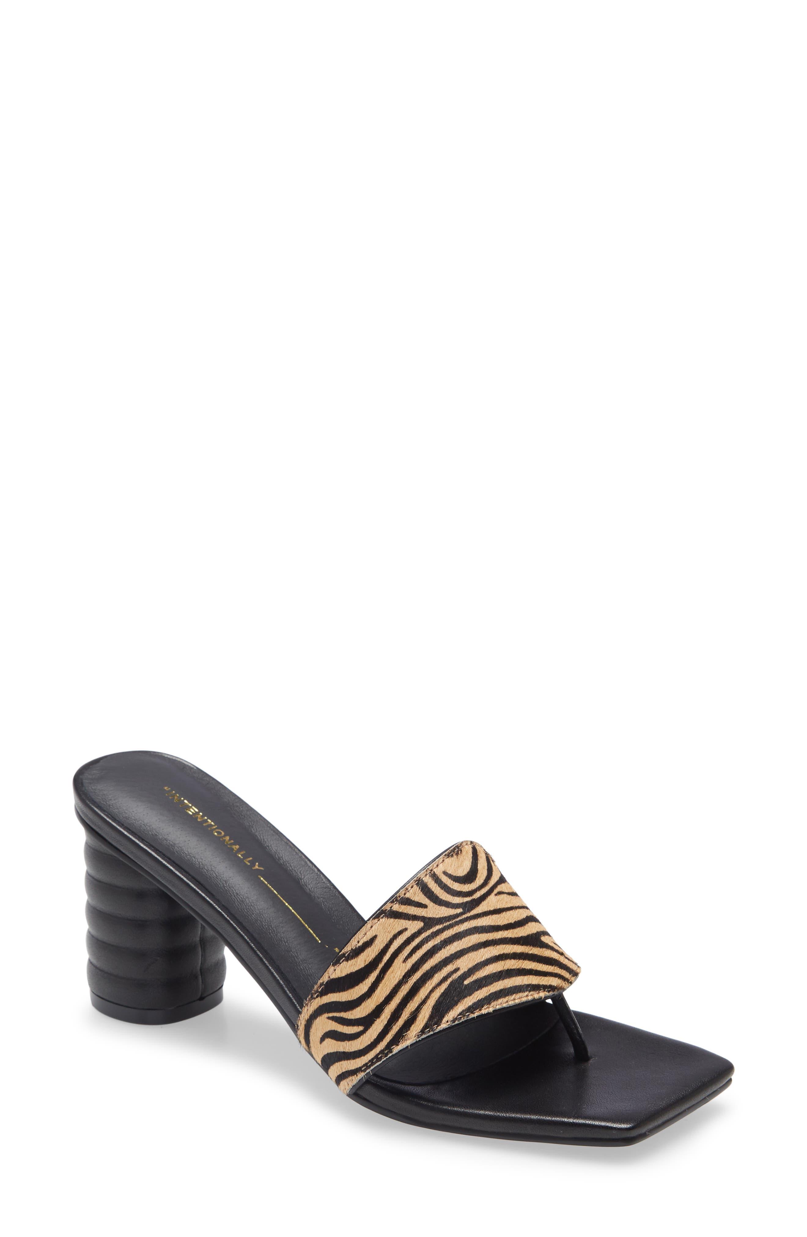 Kristina Genuine Calf Hair Sandal