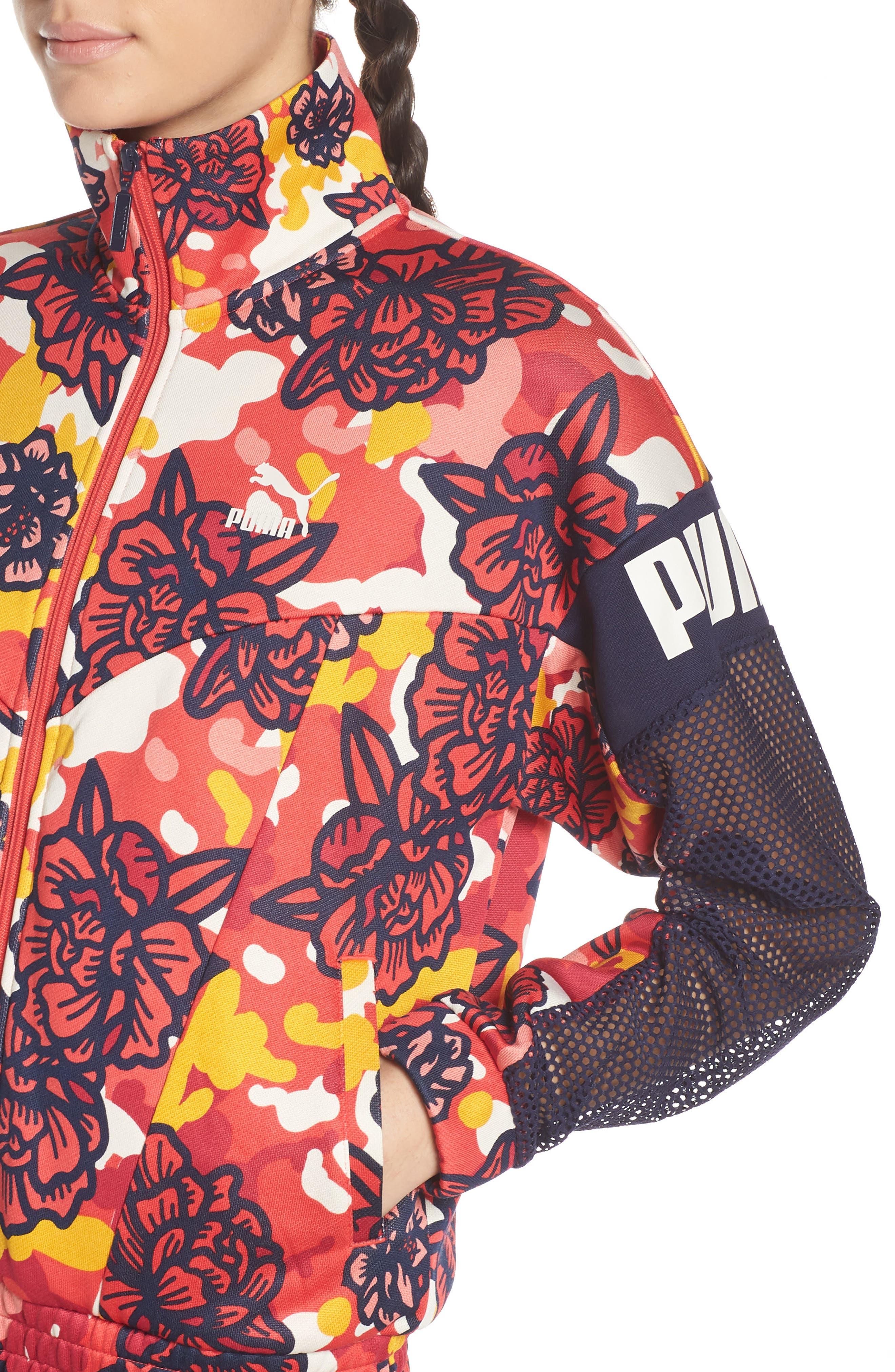 ,                             Flourish XTG Jacket,                             Alternate thumbnail 5, color,                             HIBISCUS MULTI