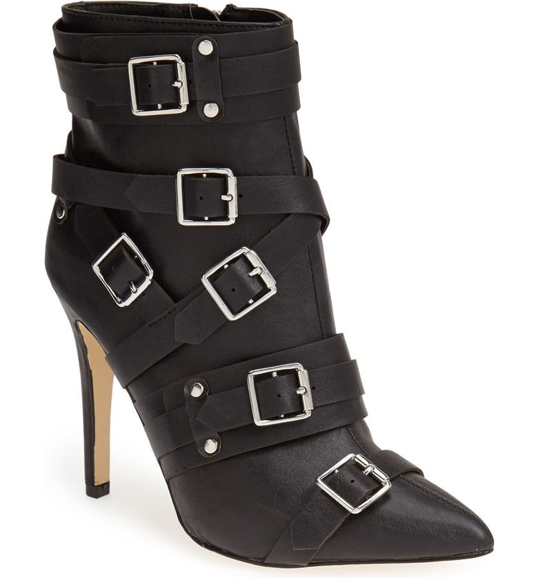 KENDALL & KYLIE KENDALL + KYLIE Madden Girl 'Pantha' Belted Boot, Main, color, 003