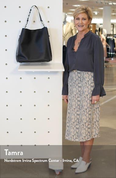 Nina Leather North/South Tote, sales video thumbnail