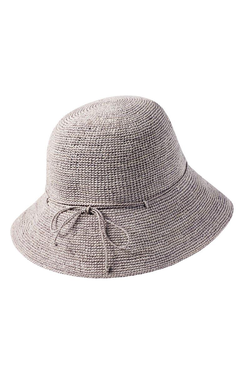 HELEN KAMINSKI '9 Villa' Raffia Straw Hat, Main, color, 021
