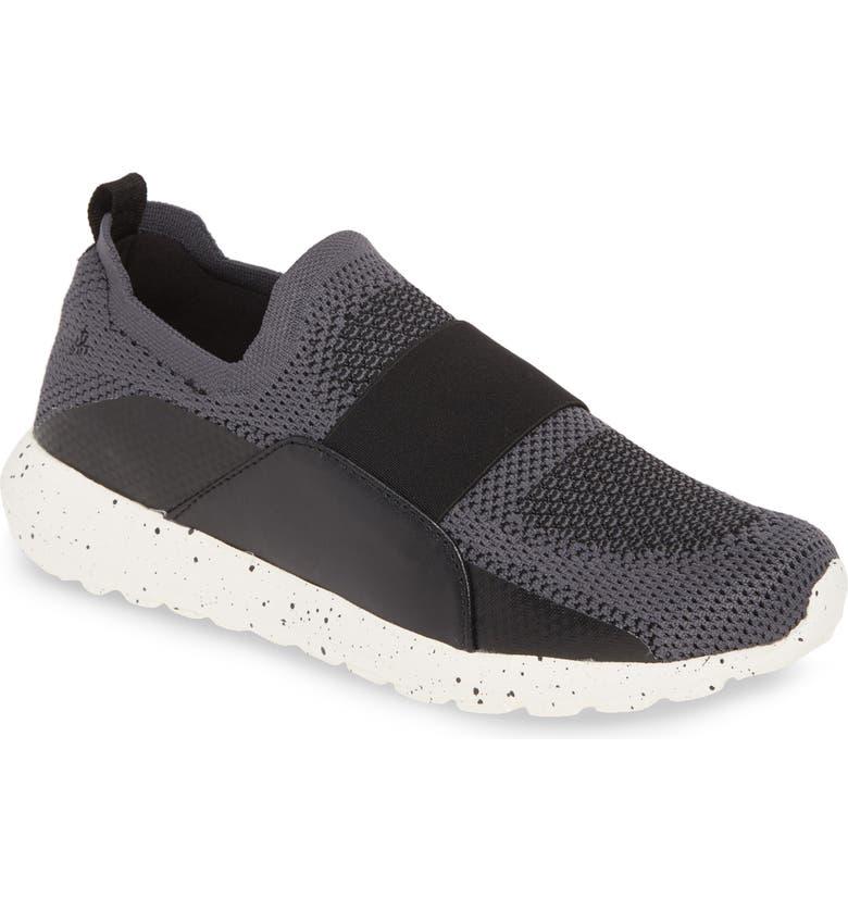 BERNIE MEV. Asako Slip-On Sneaker, Main, color, DARK GREY FABRIC