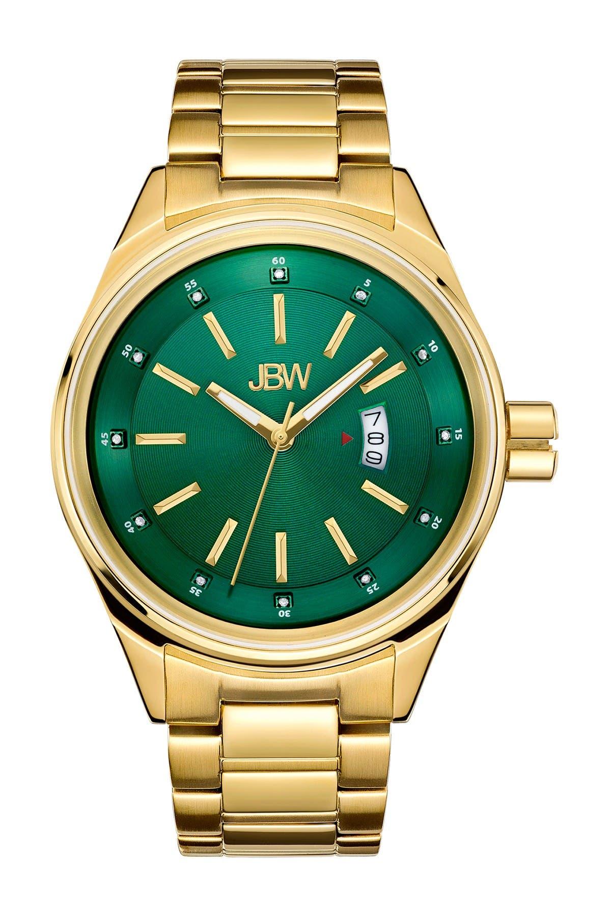 Image of JBW Men's Rook Diamond Watch, 46mm - 0.12 ctw