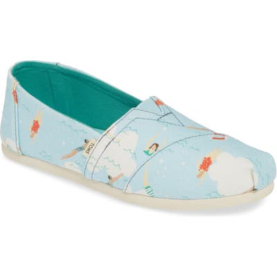 Toms Classic Canvas Slip-On B - Blue