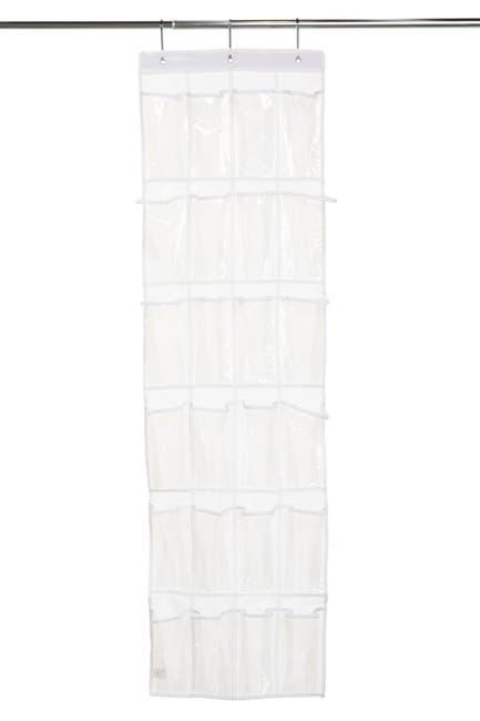 Image of Honey-Can-Do 24 Pocket Over-The-Door Peva Shoe Rack