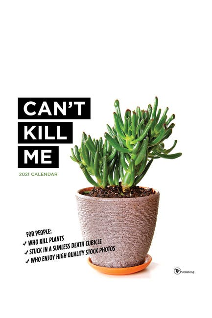 Image of TF Publishing 2021 Can't Kill Me Wall Calendar
