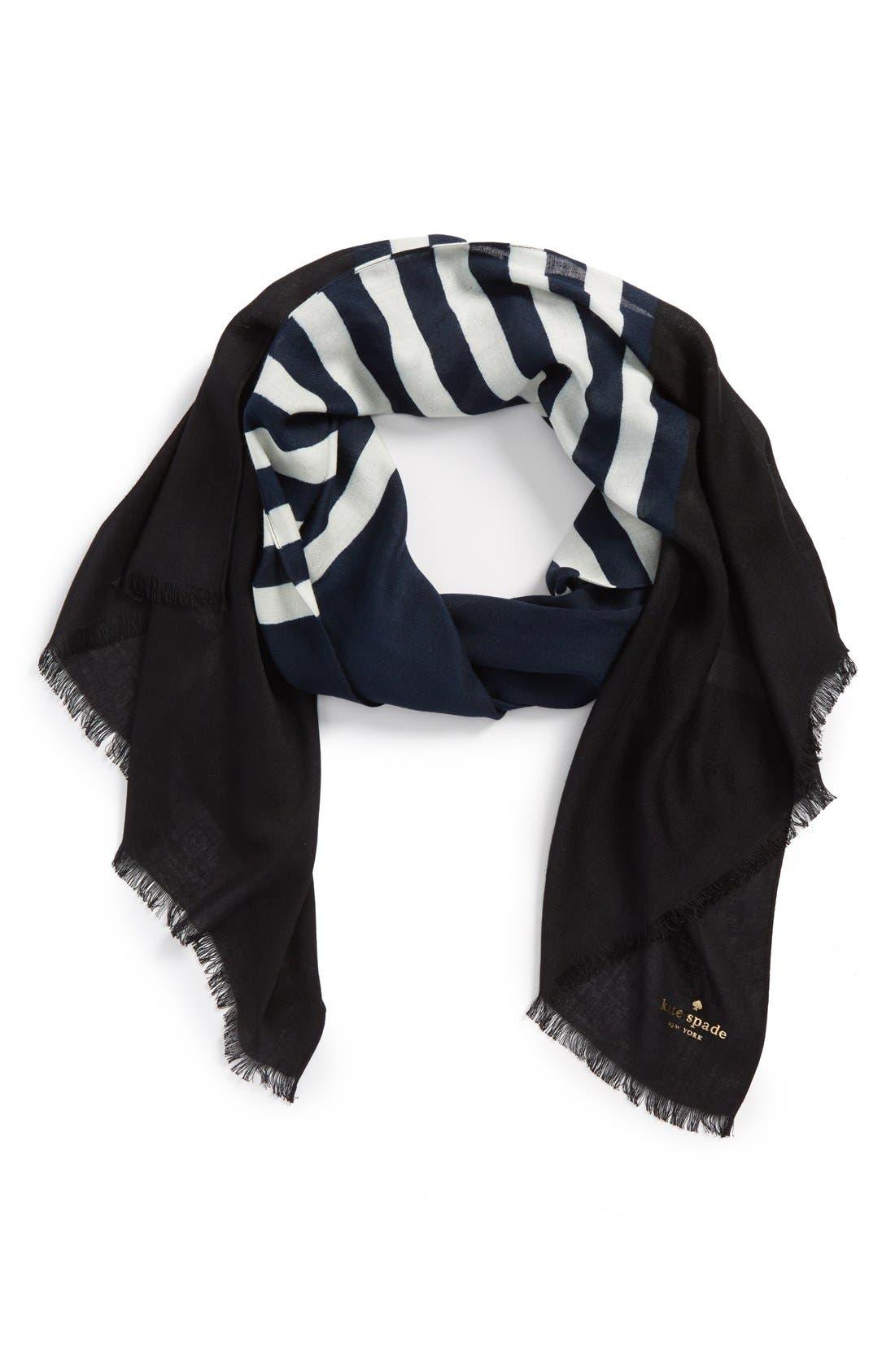 ,                             'six month stripe' scarf,                             Main thumbnail 6, color,                             490