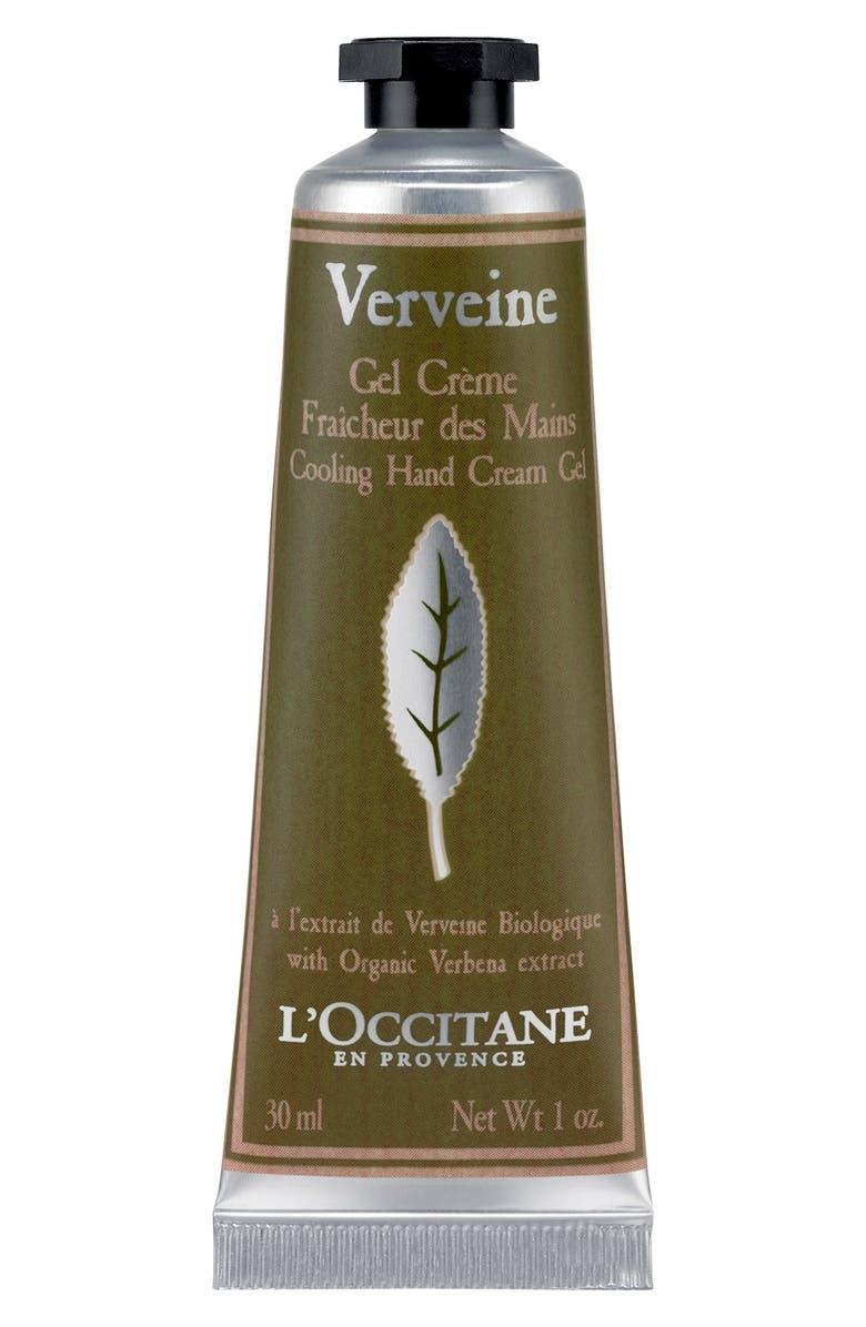 L'OCCITANE Verbena Cooling Hand Cream Gel, Main, color, NO COLOR