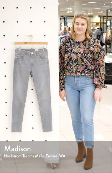 Aaran Raw Hem Ankle Skinny Jeans, sales video thumbnail