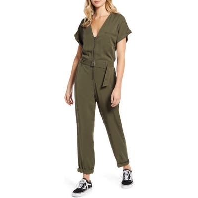 Lira Clothing Libby Zip Front Jumpsuit