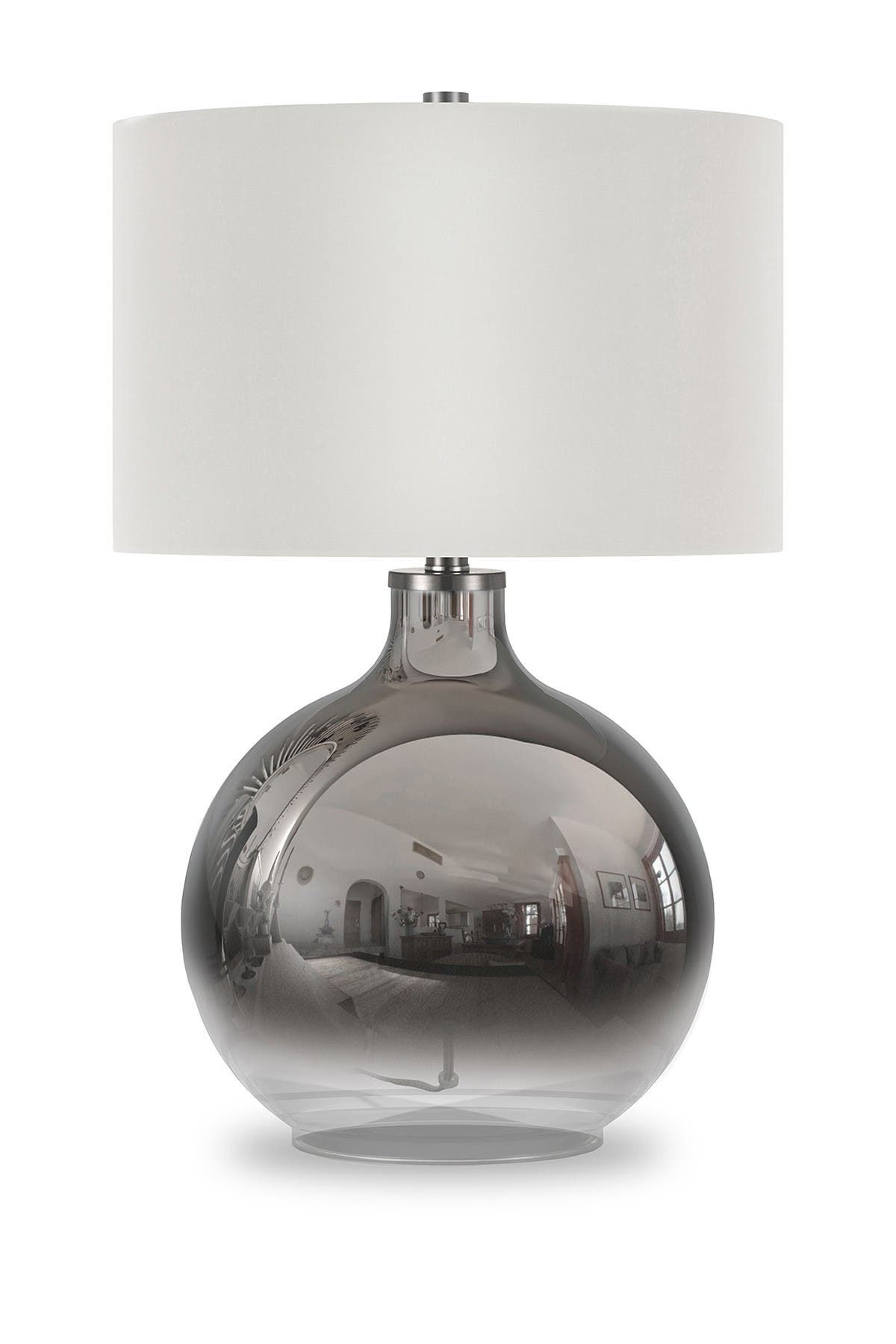 Image of Addison and Lane Laelia Table Lamp - Ombre Plated Glass