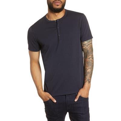 John Varvatos Star Usa Regular Fit Henley T-Shirt, Blue