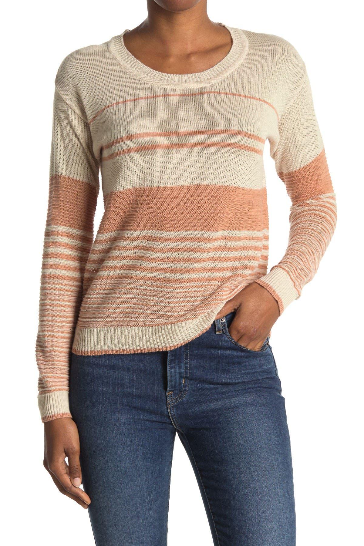 Image of Heartloom Lightweight Stripe Pullover Sweater