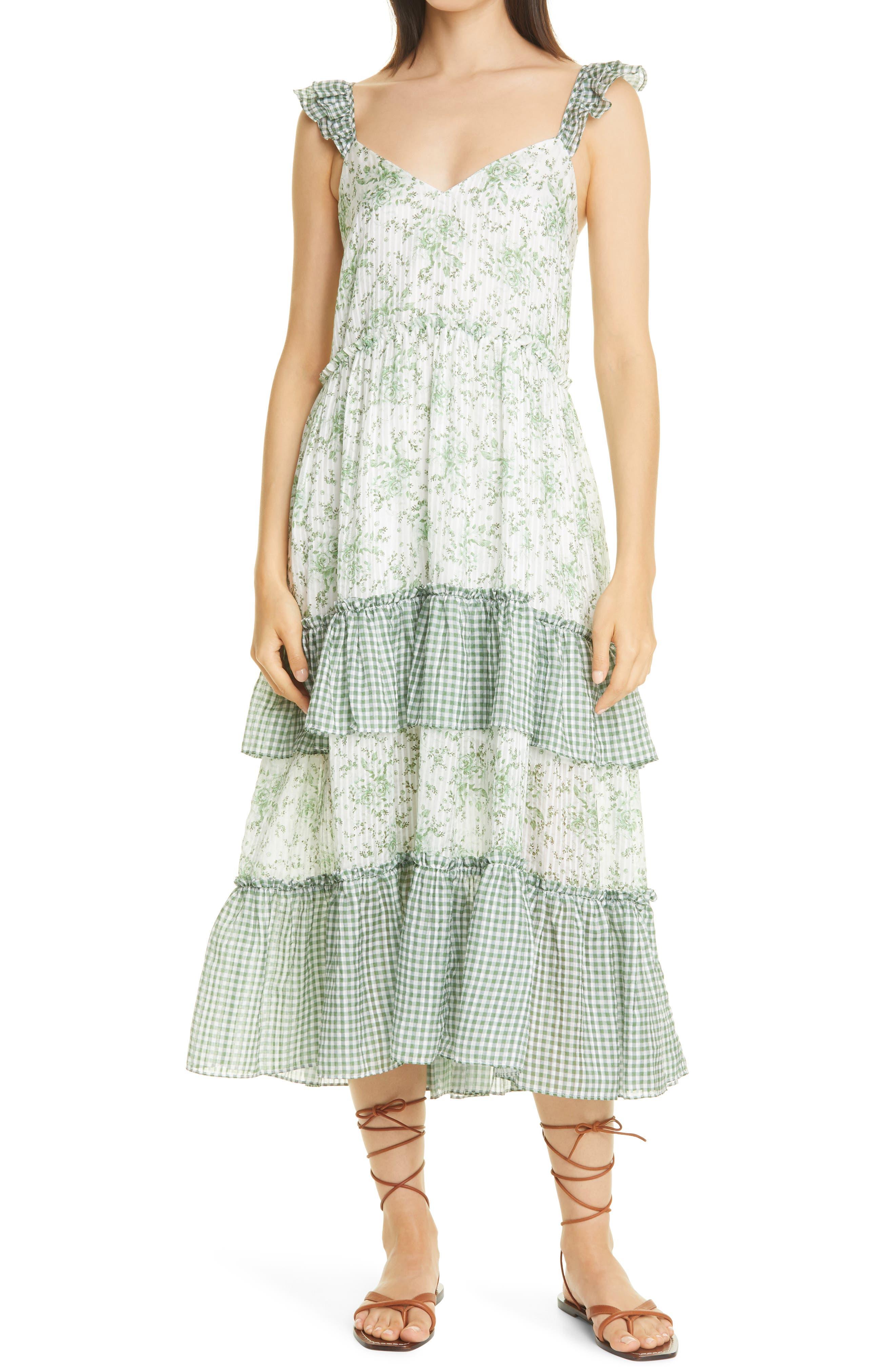 Angela Ruffle Dress