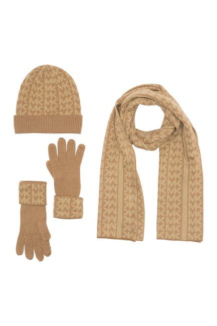 Image of MICHAEL Michael Kors Monogramed Knit Set
