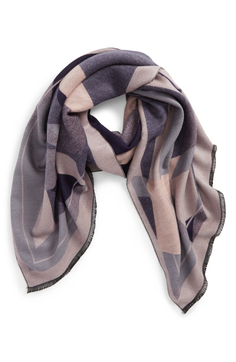 NYC UNDERGROUND Abstract Geo Scarf, Main, color, 402