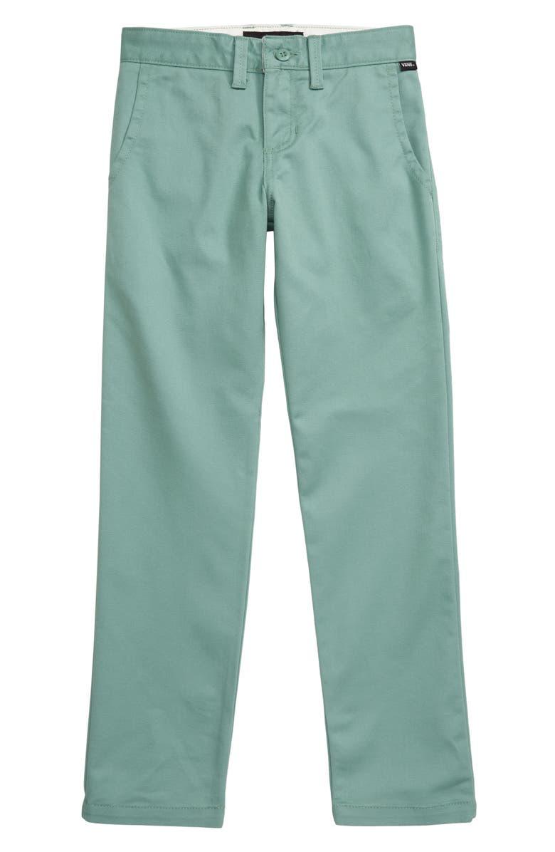 VANS Authentic Chino Pants, Main, color, OIL BLUE