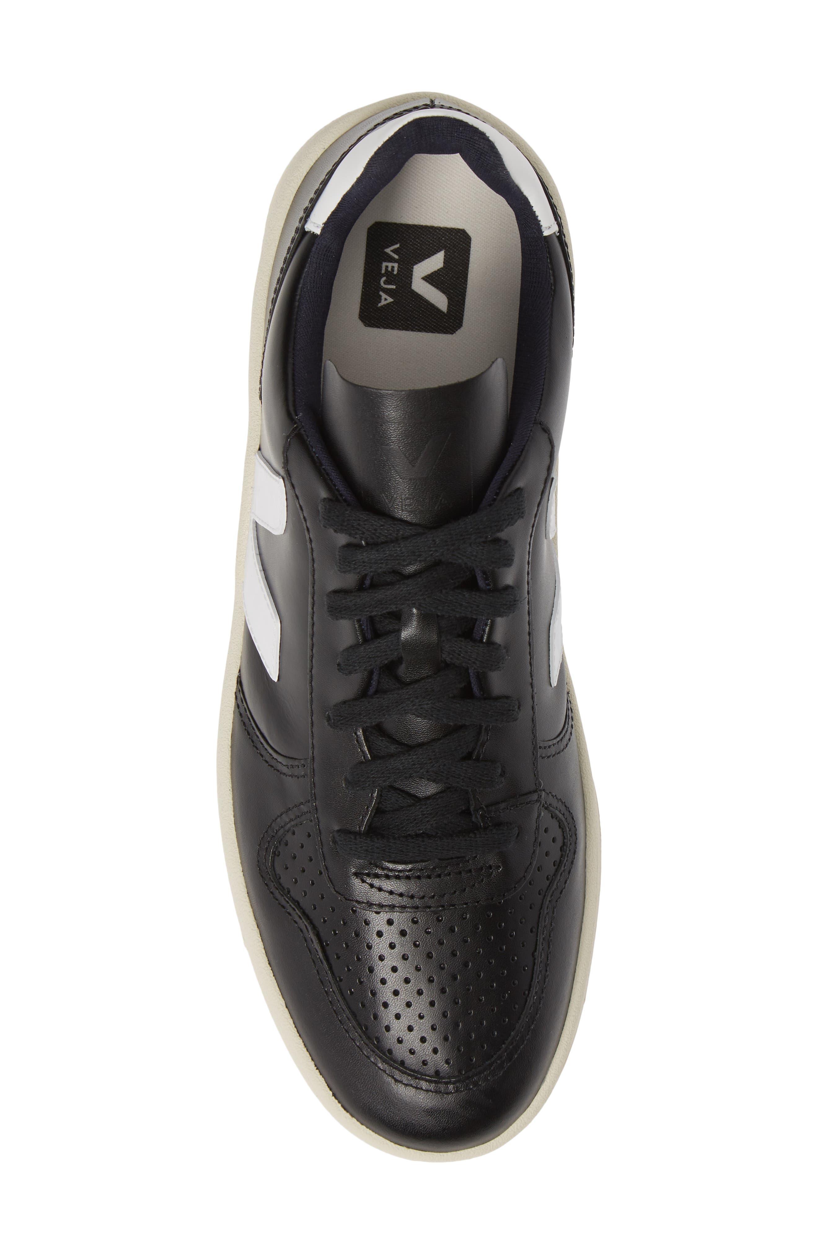 ,                             V-10 Sneaker,                             Alternate thumbnail 5, color,                             BLACK WHITE