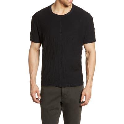 John Varvatos Star Usa Morrison Crinkle T-Shirt, Black