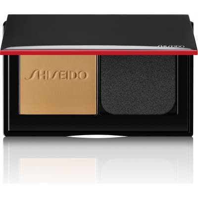 Shiseido Synchro Skin Self-Refreshing Custom Finish Powder Foundation - 340 Oak