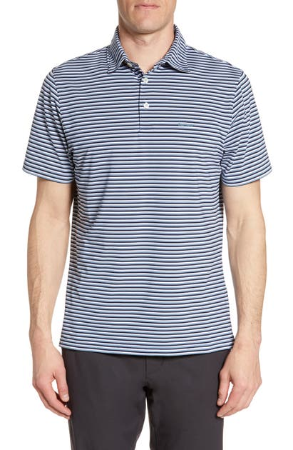Barbour Shorts STRIPE SHORT SLEEVE PERFORMANCE POLO