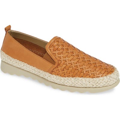 The Flexx Chapter Woven Slip-On Sneaker- Brown
