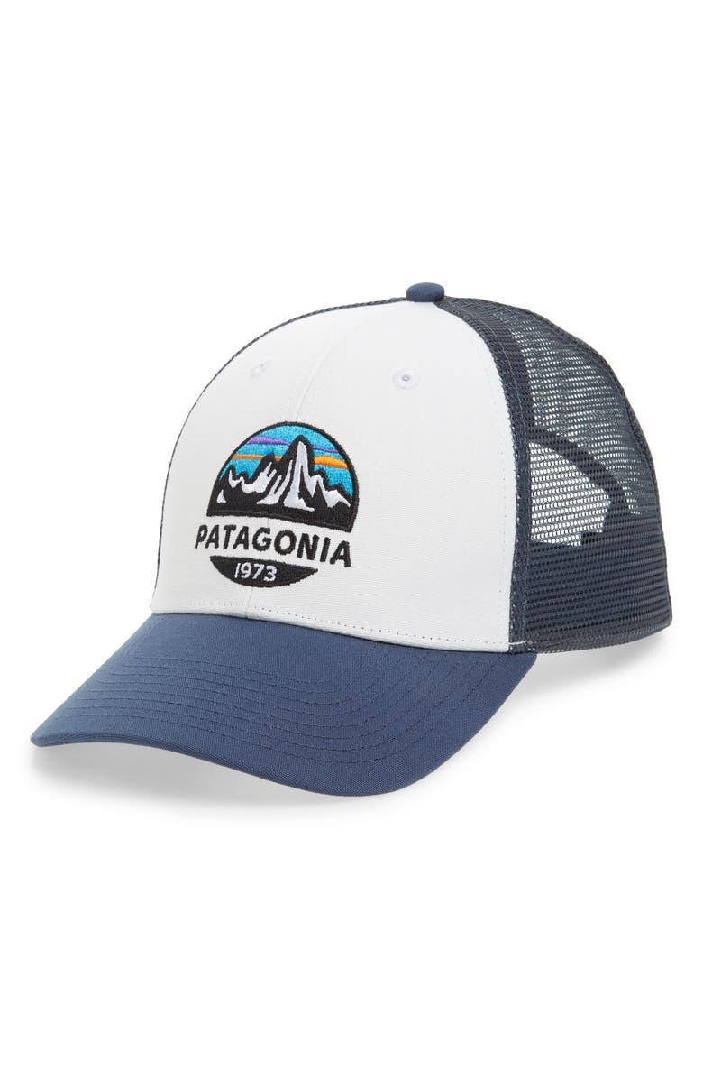 5f806037a7f48 Patagonia Fitz Roy Scope Lopro Trucker Cap
