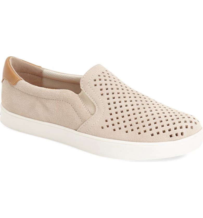 DR. SCHOLL'S Original Collection 'Scout' Slip On Sneaker, Main, color, BONE SUEDE
