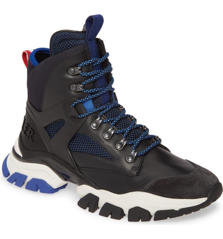 MONCLER Tristan Boot, Main, color, BLACK/ BLUE
